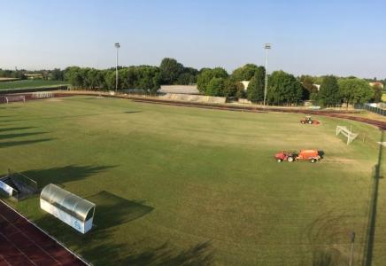 campo da calcio prima