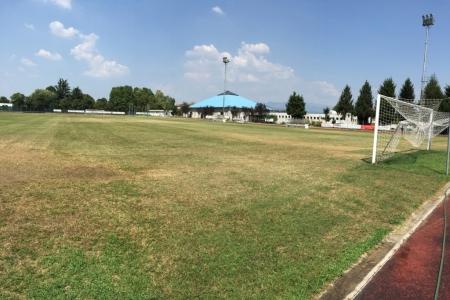 Dettaglio campo da calcio