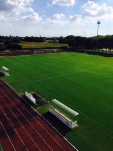 Campo da calcio finito