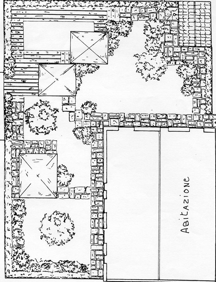 progetto di un giardino