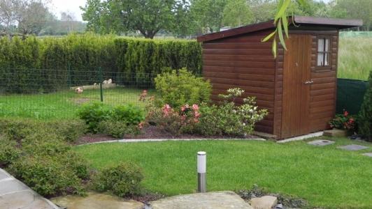 Giardino villa in campagna dettaglio