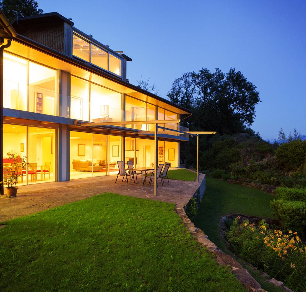 Villa con vista sul lago