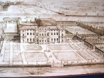 Villa Alari disegno storico