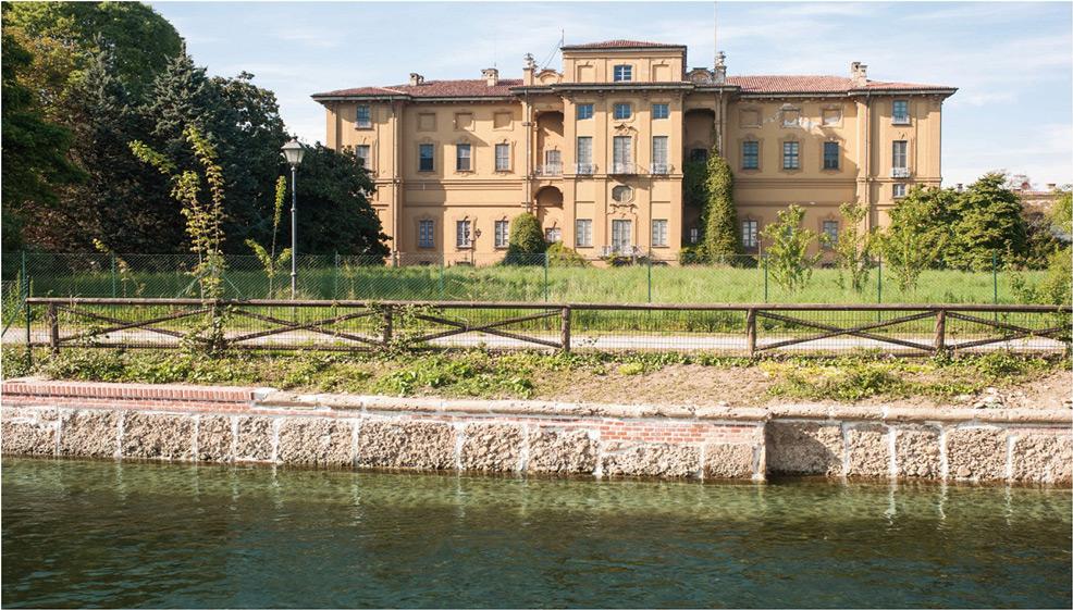 Villa antica vista