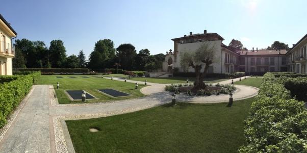 Vista del giardino interno